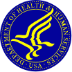 Department of Health and Human Services logo image