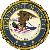 Department of Justice logo image